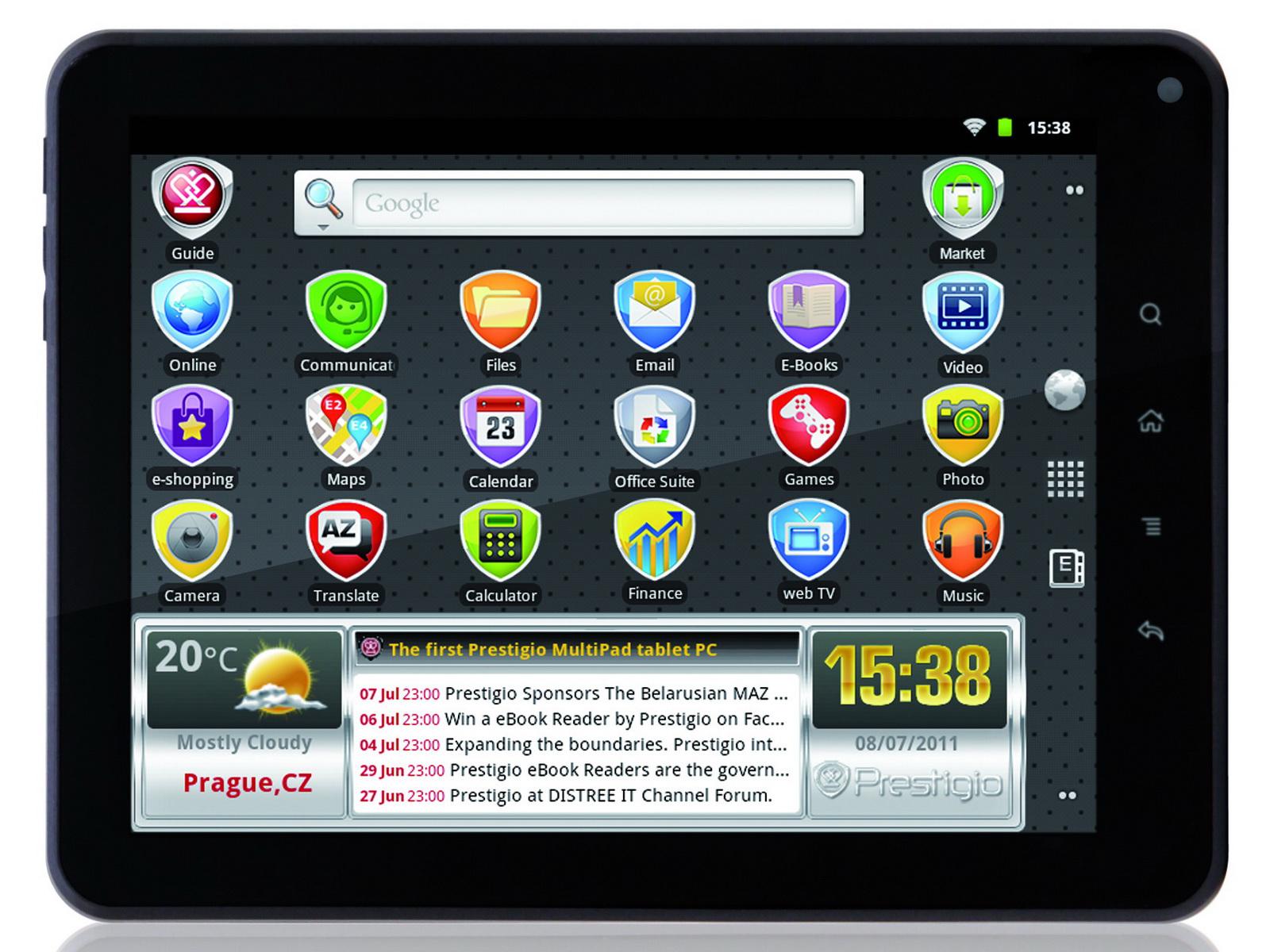 prestigio 8 zoll android tablet multipad pmp5080b f r 200. Black Bedroom Furniture Sets. Home Design Ideas