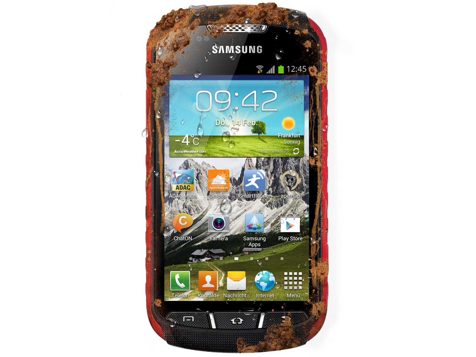 samsung outdoor smartphone galaxy xcover 2 ab sofort f r 380 euro news. Black Bedroom Furniture Sets. Home Design Ideas