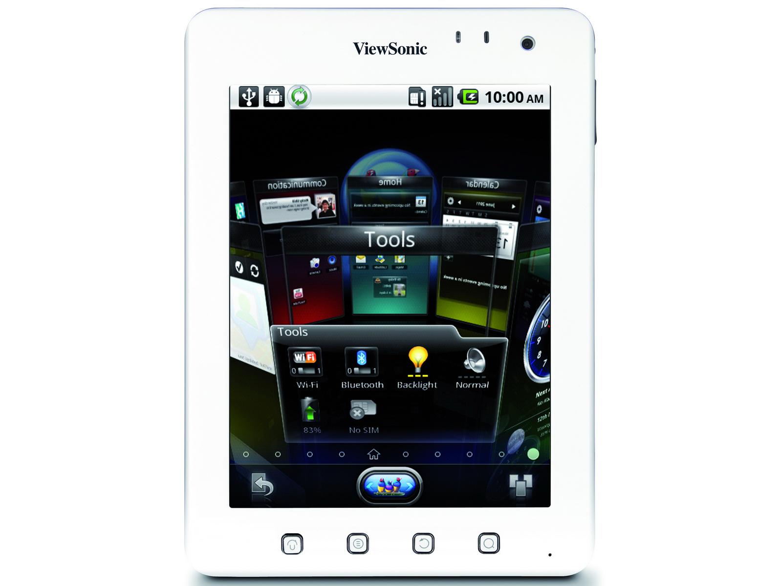 viewsonic stylisches einsteiger tablet viewpad 7e kostet. Black Bedroom Furniture Sets. Home Design Ideas