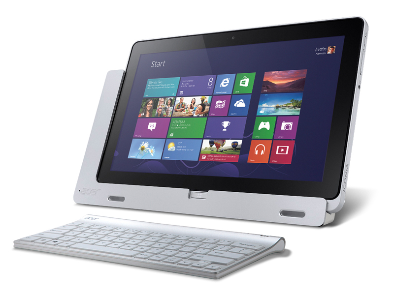 acer iconia tab w700 11 6 zoll tablet mit windows 8 ab. Black Bedroom Furniture Sets. Home Design Ideas