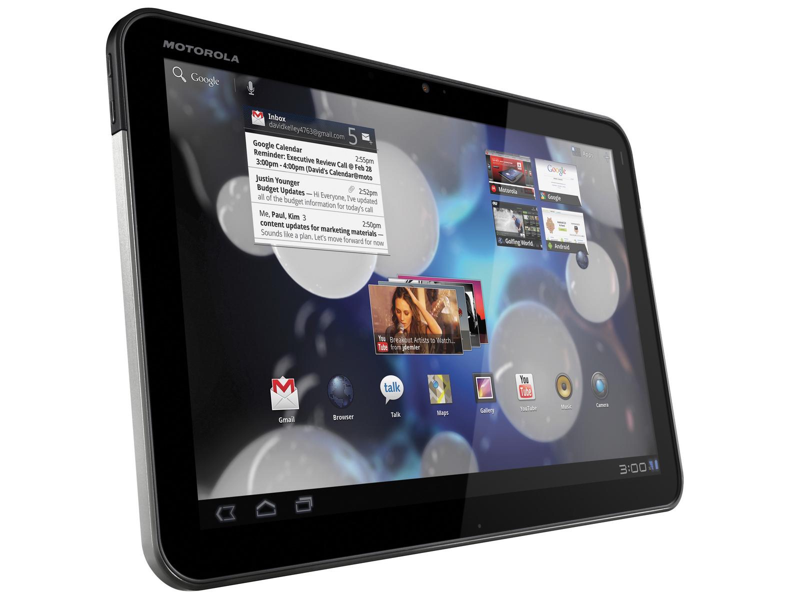 Motorola: Weitere technische Daten zur Tablet-Serie Xoom ...