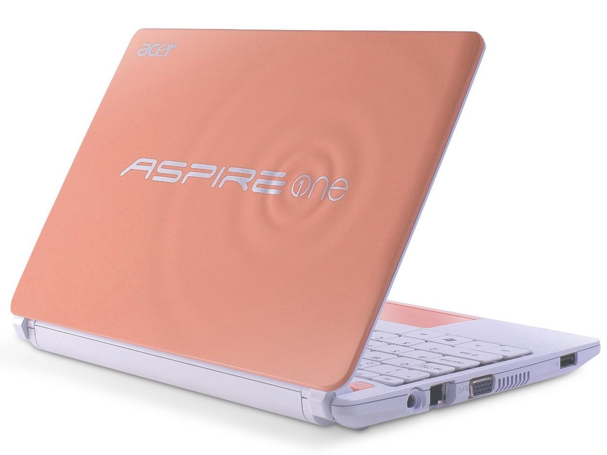 Acer Netbook Aspire One Happy2 In Vier Neuen Farben