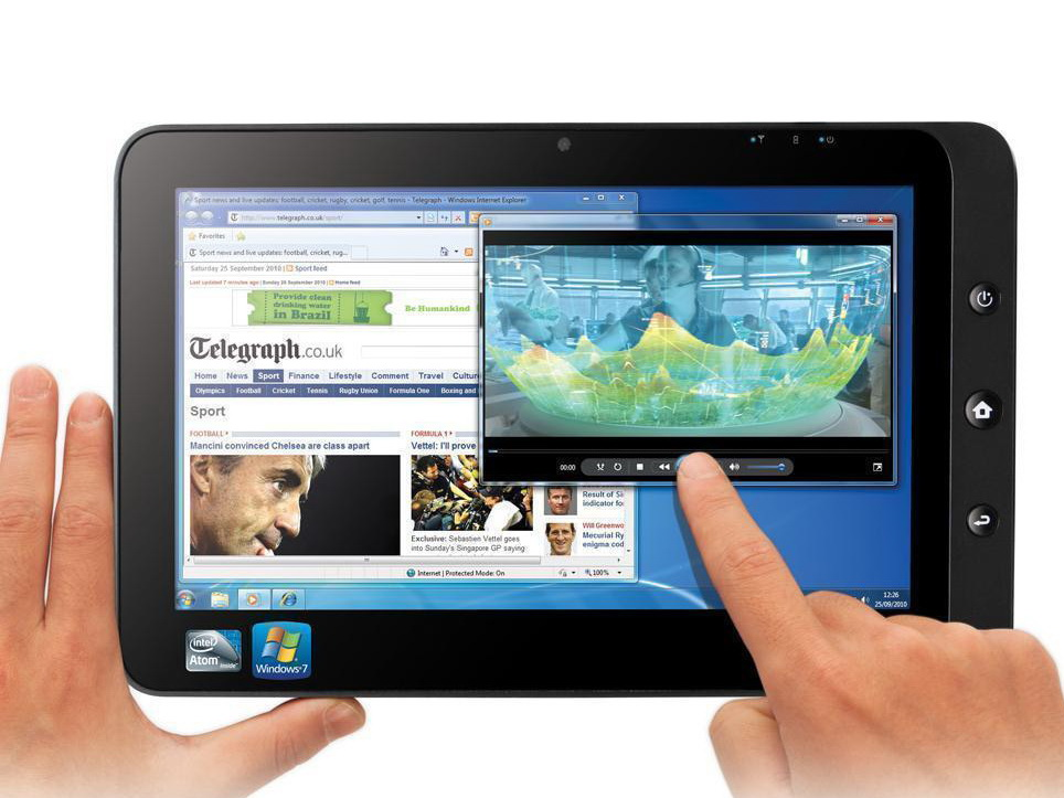 novatech 10 1 zoll tablet ntablet mit dual os android und windows 7 news. Black Bedroom Furniture Sets. Home Design Ideas