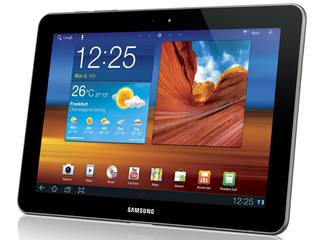 samsung 10 1 zoll tablet galaxy tab 10 1 3g umts im. Black Bedroom Furniture Sets. Home Design Ideas