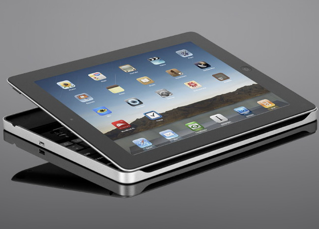Logitech: Keyboard Case für Apples Tablet-PC iPad 2 ...