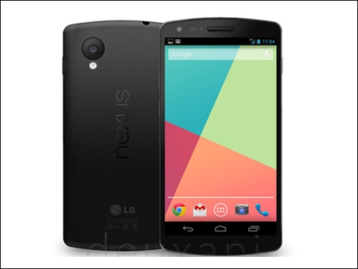 LG: Weitere Nexus 5 Specs und Bilder durchgesickert ...