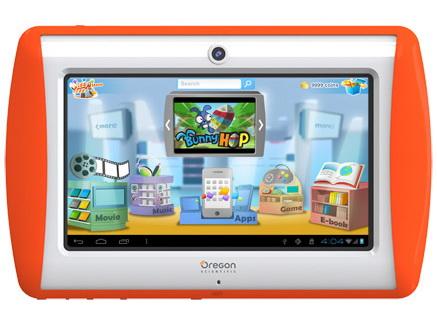 oregon scientific 7 android 4 0 tablet meep f r kinder. Black Bedroom Furniture Sets. Home Design Ideas