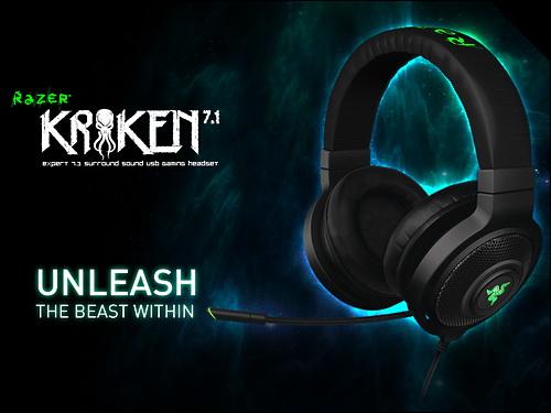 Gamescom 2013 | Razer Kraken 7.1 Surround Sound USB Gaming Headset