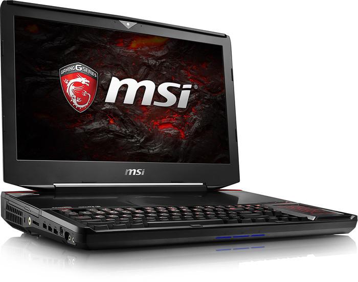 "1493280 1 01 - MSI GT83VR 6RF ""Titan SLI"" FHD Gaming Notebook (Black)"