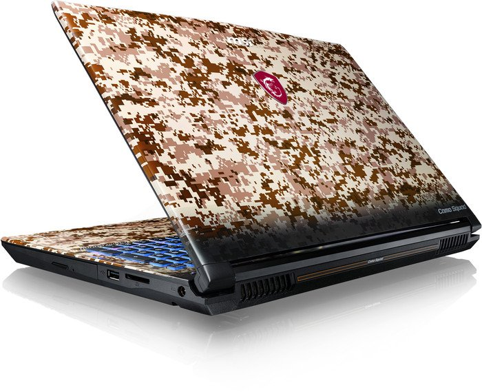 MSI GE62VR 7RF-652 Camo Squad Limited Edition