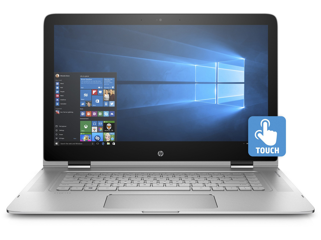 HP Spectre x360 15-ap002ng - Notebookcheck.com Externe Tests
