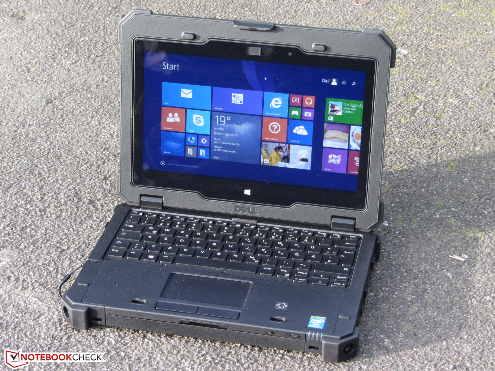 Dell Latitude 12 Rugged Extreme Notebookcheck Com