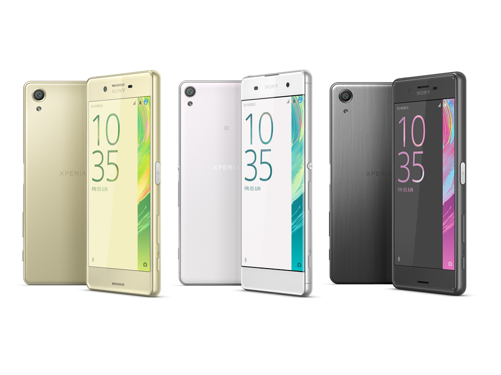 sony xperia x externe tests. Black Bedroom Furniture Sets. Home Design Ideas