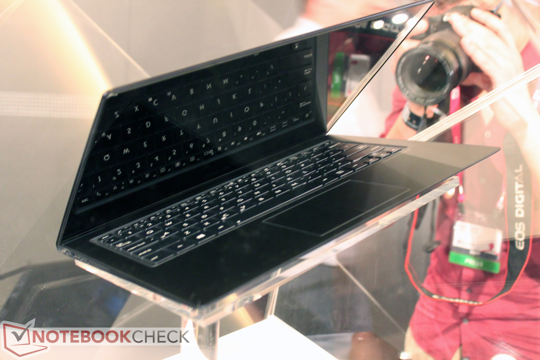 asus zenbook infinity - notebookcheck externe tests