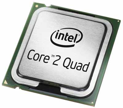 Quad Core Logo Intel
